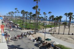 Venice Beach, view from the hotel balcony