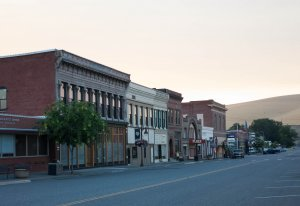 Downtown Waitsburg, WA