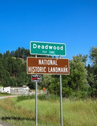 Entering Deadwood