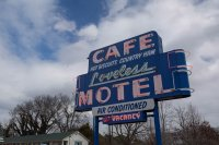 The famous Loveless Cafe at the start of the Natchez Trace Parkway