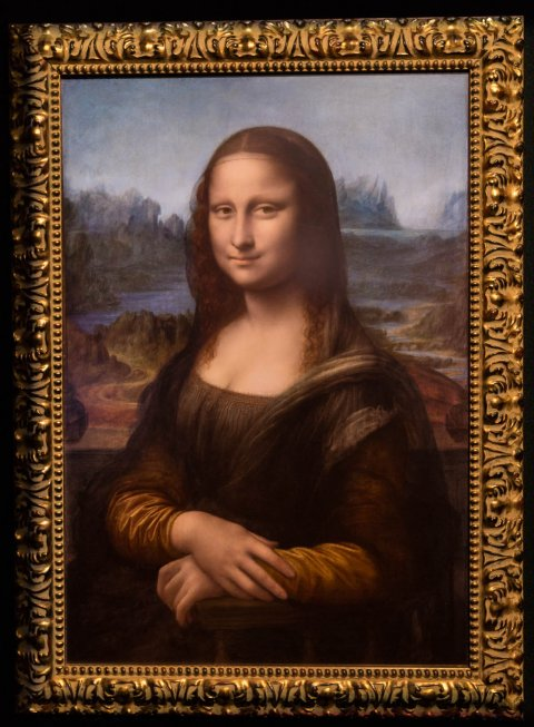 What the Mona Lisa would have looked like back when it was painted