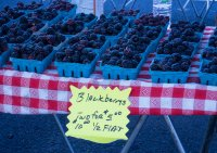 Tasty and inexpensive. Walla Walla farmer's market.