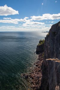 A look down the Palisades toward Duluth