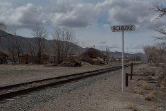 The bustling metropolis of Schurz, NV