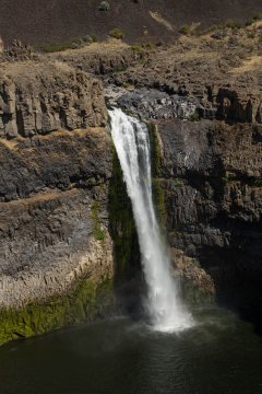 Palouse Falls, from the observation point