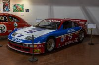 "This 300ZX was part of the ""raced at LeMans"" display"