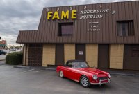 Fame Studios. Note authentic Alabama patina on the quarterpanel of the car.