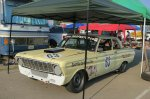 One of the older entries, a Ford Falcon