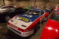 One of Paul Newman's old 300ZX race cars