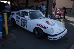 A Porsche 911 with a VW diesel engine in it