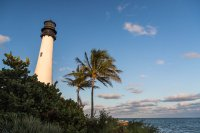 The lighthouse at Biscayne Key