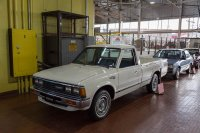 Job 1: The first vehicle off the Nissan assembly line in Smyrna in 1983