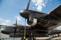 The mighty Lancaster and its Merlin engines