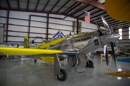 Precious Metal, a very modified P-51 Mustang