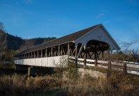 One of many covered bridges in New Hampshire