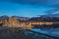 Sunrise at Mono Lake, sans tourists (except me)