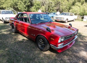 "Rarely seen on these shores, the ""Hakosuka"" Skyline GT-R"