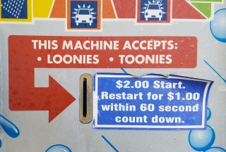 Loonies AND Toonies! I'm going to need some change...